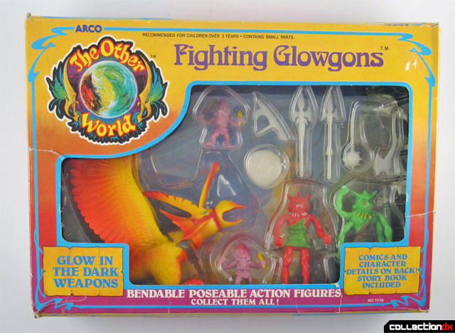 Fighting Glowgons