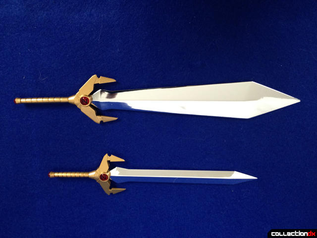 Mazinkaiser big sword comparison