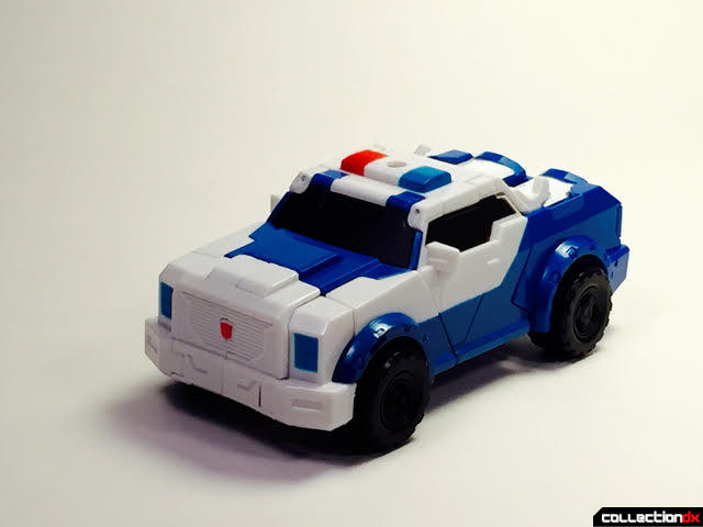Strongarm vehicle front