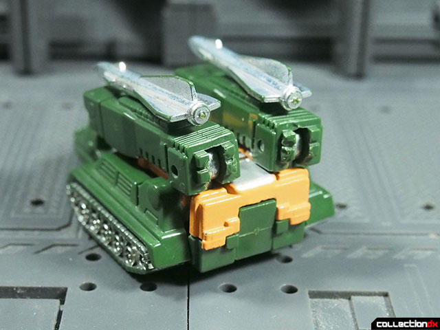 MR-23 Missile Tank Robo (Green)