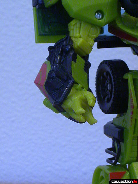 Autobot Ratchet- robot mode converting right arm (1-4)