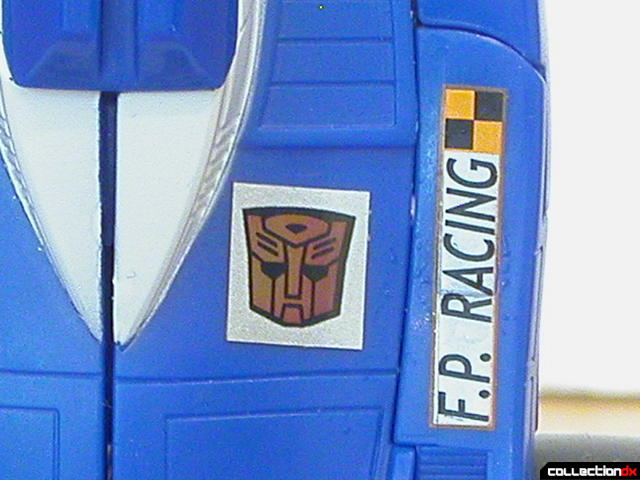 Autobot Mirage- alliance decal (glowing)