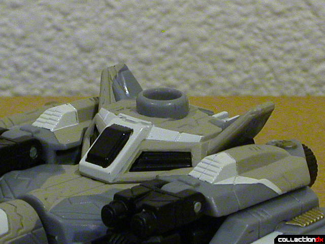Autobot Skyblast- vehicle mode (top details)