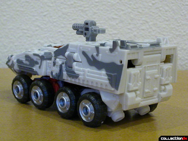 Decepticon Wreckage- vehicle mode (back)